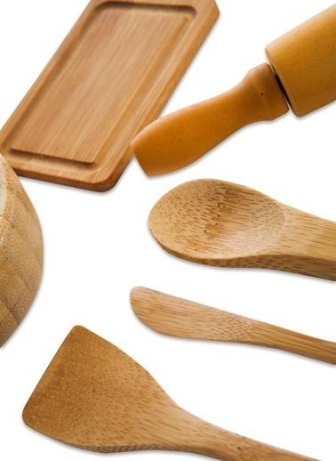 Bambum Minny - 6 Prç. Minyatür Mutfak Seti Renkli